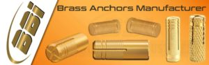 Brass Anchors Manufacturer