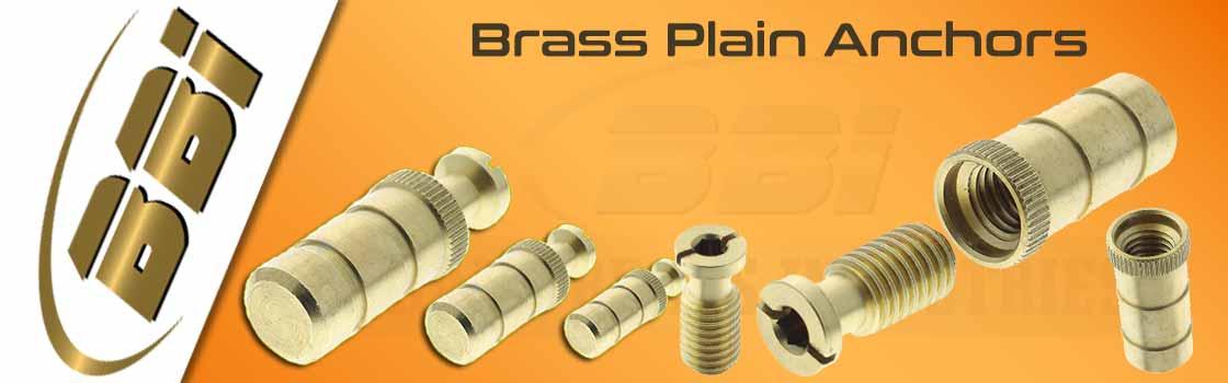 Brass Plain Anchors
