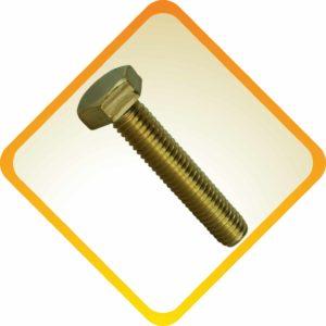 Brass DIN 933 Nuts