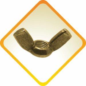 Brass Wing Nuts